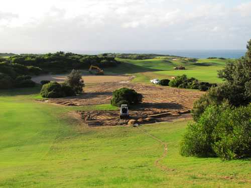 NSW Golf Club Nursery Construction
